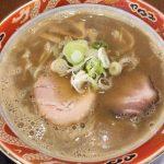 煮干しラーメン/麺や城  筒井店(青森市筒井)